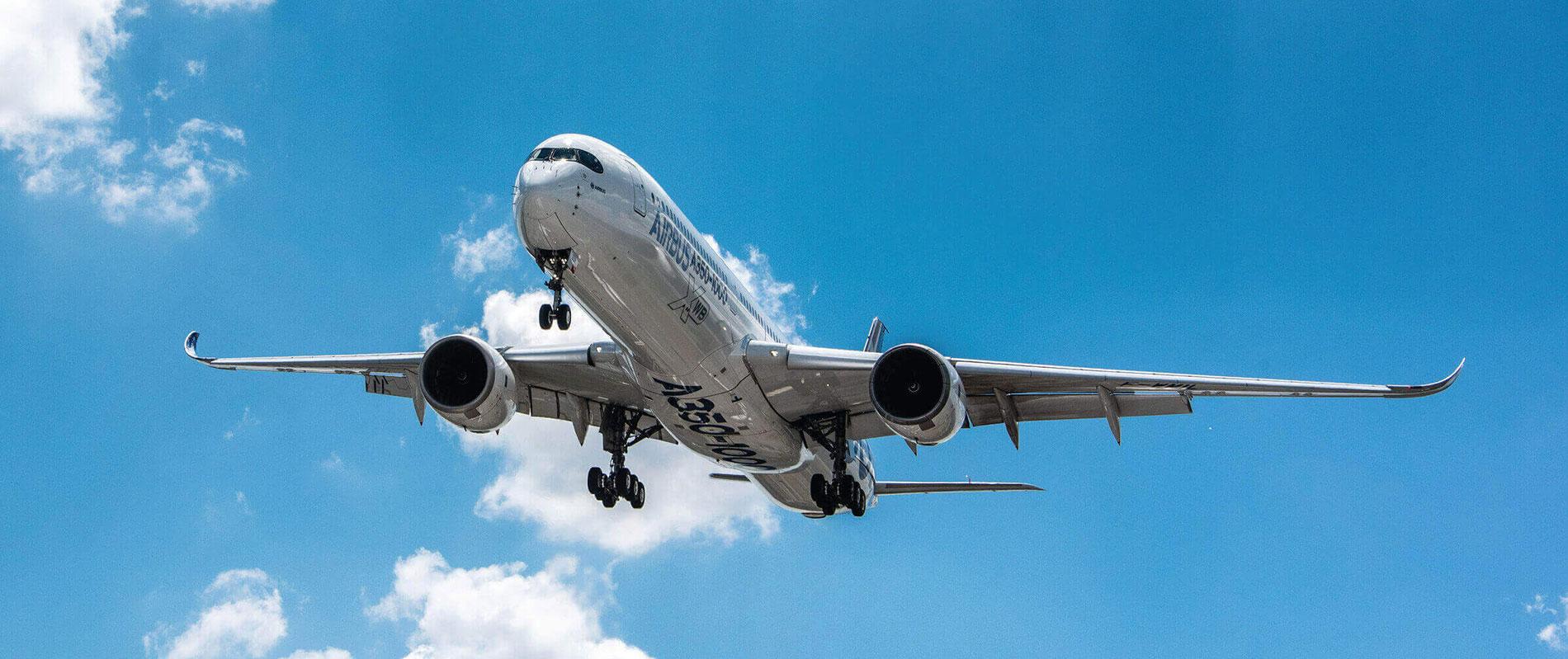 UK Aerospace Airbus Airbus in the sky