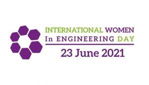 International womens in engineering day logo
